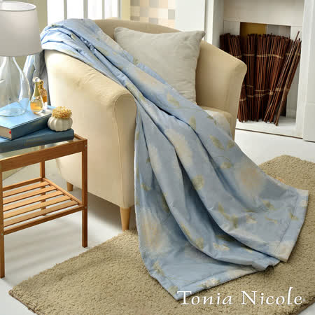 Tonia Nicole東妮寢飾伊芙琳環保活性印染精梳棉單人涼被(150x195cm)