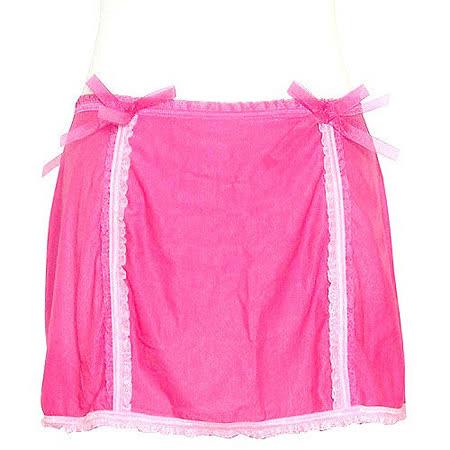 維多利亞的秘密 薄紗性感緞帶睡裙-粉紅【M號】