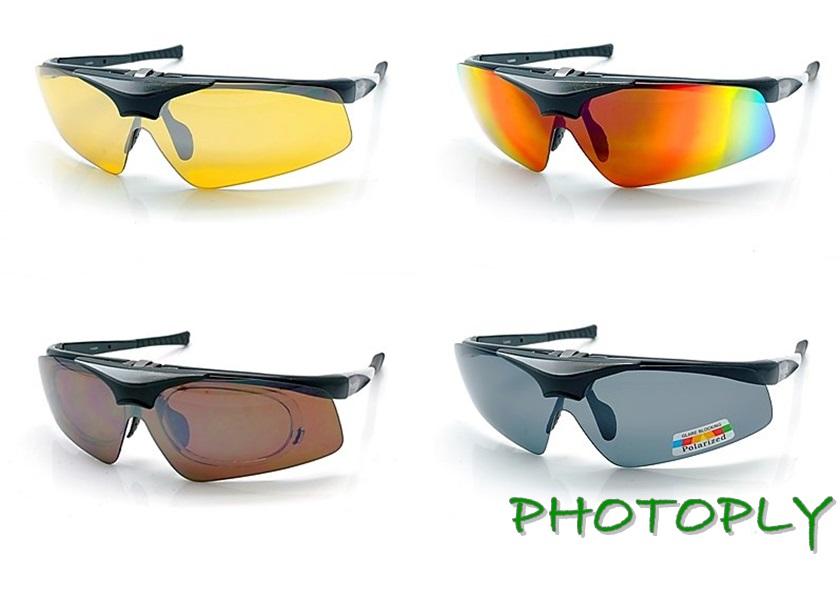 品牌PHOTOPLY黑色MLB大聯盟眼鏡 4~in~1紅外光IR藍光POL寶麗萊夜視