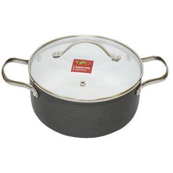 牛頭牌 小牛陶瓷湯鍋(雙耳) 附玻璃蓋