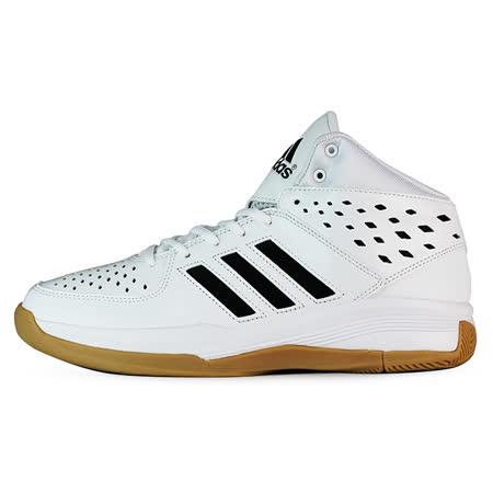 ADIDAS 男 COURT FURY 籃球鞋 愛迪達 白 -AQ8538