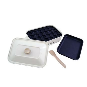綠恩家enegreen日式多功能烹調烤爐(珍珠白)KHP-770T