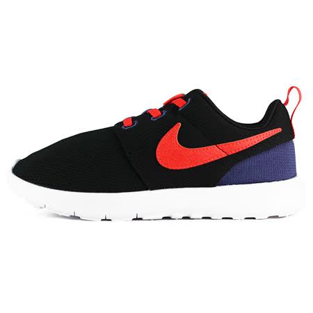 Nike 童 NIKE ROSHE ONE BPV 耐吉 慢跑鞋 黑/橘 - 749428029