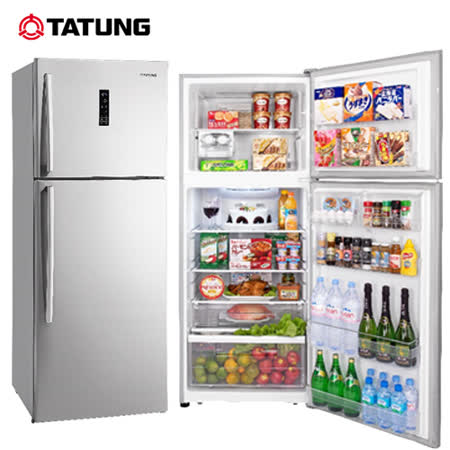 TATUNG大同 420L雙門變頻冰箱 TR-B520V-S 送安裝