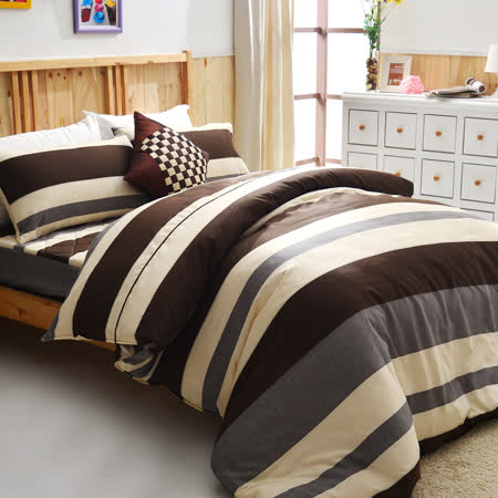 美夢元素 台灣製天鵝絨 無印良品 單人三件式床包被套組
