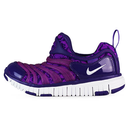 Nike 童 DYNAMO FREE PRINT PS 耐吉 慢跑鞋 紫/白 - 834365500