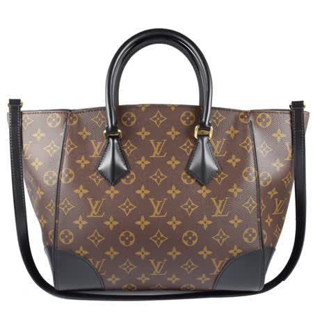 Louis Vuitton LV M41542 Phenix MM 經典花紋兩用仕女包.黑_現貨