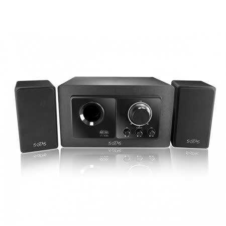 【KINYO】2.1聲道重低音木質音箱(KY-7386)