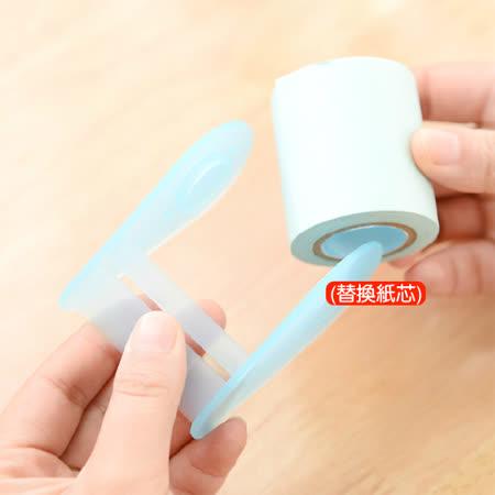 生活小物 超大卷筒式可撕便利貼/N次貼/紙膠帶(替換紙芯) 1入 顏色隨機出貨