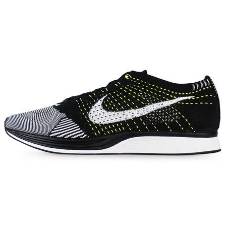 Nike 男女 NIKE FLYKNIT RACER 慢跑鞋 黑/白 - 526628011