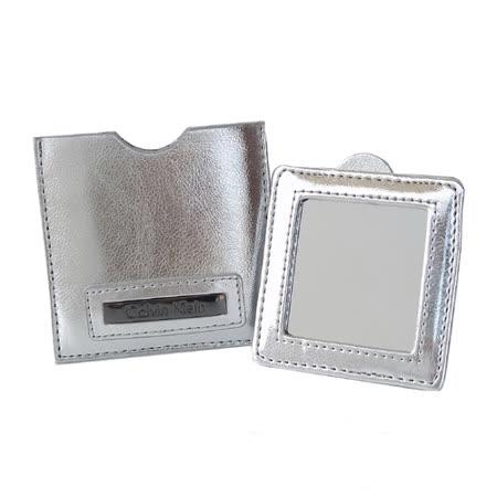 Calvin Klein 極簡風格銀色亮面萬用隨身鏡