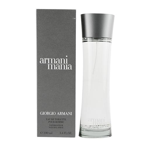 【GIORGIO ARMANI】MANIA 男性淡香水 100ml(TESTER)