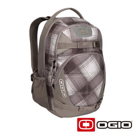 OGIO REBEL 15吋 背叛者電腦後背包 (棕白格紋)
