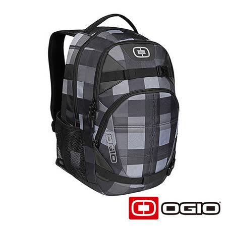 OGIO REBEL 17吋 背叛者電腦後背包 (藍灰格紋)