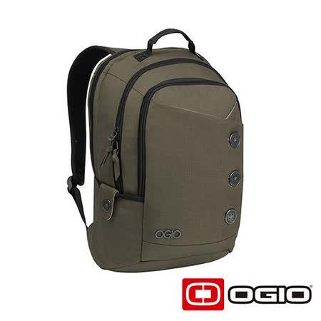 OGIO SOHO 17吋 鈕扣造型電腦後背包 (灰)