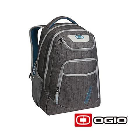 OGIO TRIBUNE 17吋 司令官電腦後背包 (葉脈紋灰)
