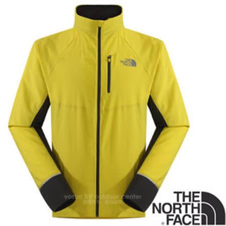 【美國 The North Face】男新款 FlashDry閃電快乾風衣外套.極致輕薄跑步外套.吸濕排汗衣.運動上衣/機能性快乾科技/CCY2 酸性黃/瀝灰 V