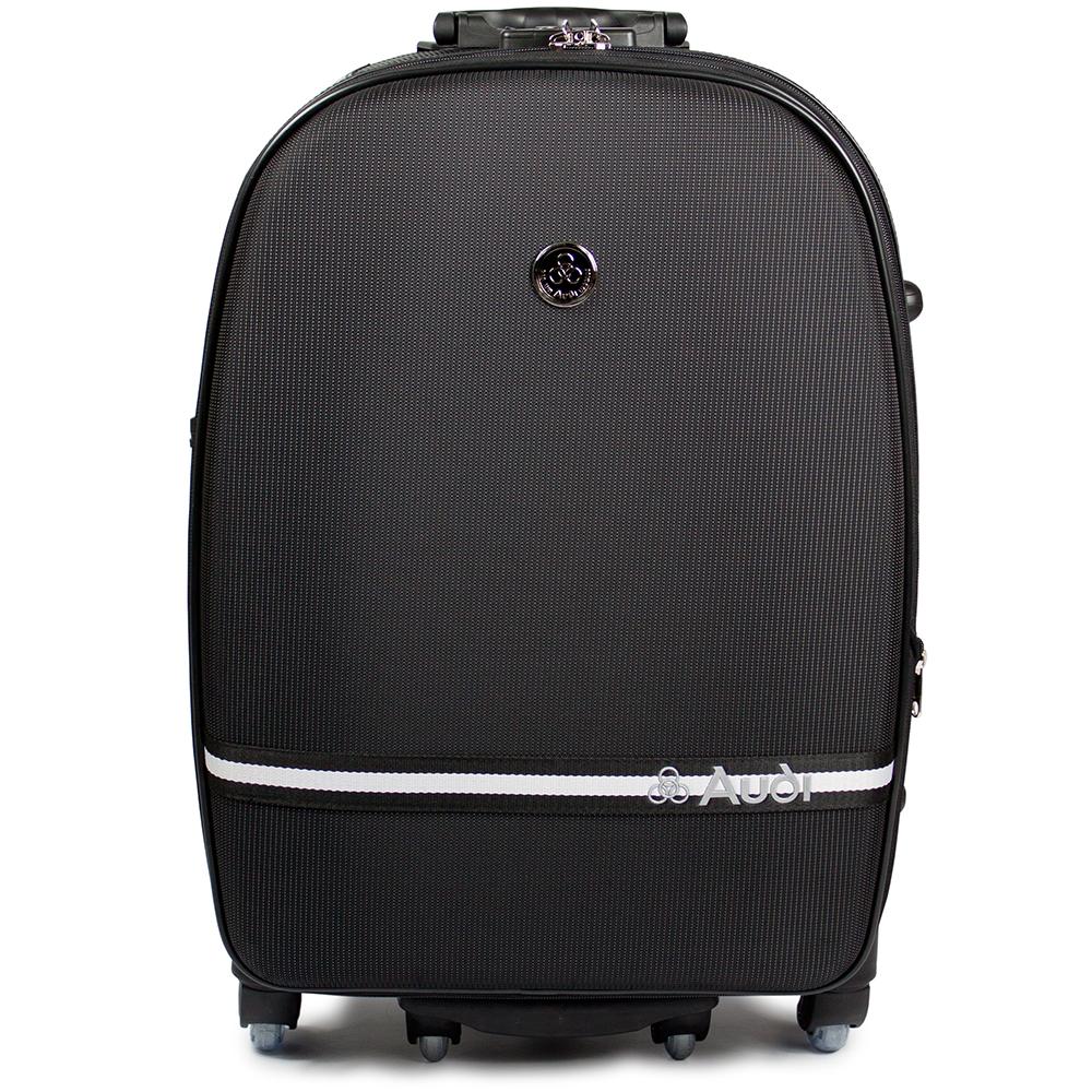 【Audi 奧迪】20吋星點系列7輪360度sogo 復興~Audi拉桿行李箱旅行箱M-7620-黑