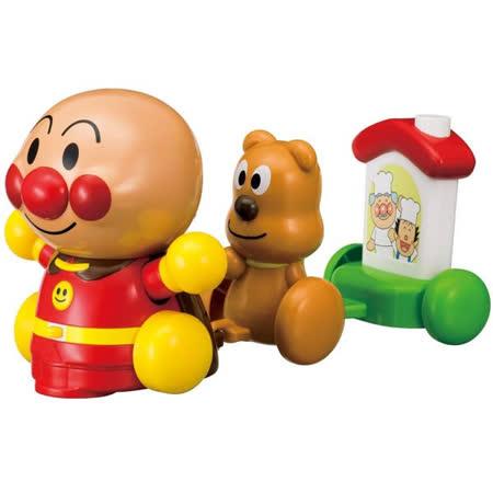 《 麵包超人 》ANP 兒童手拉車玩具