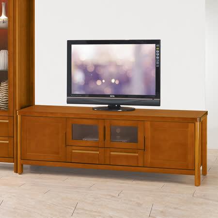 HAPPYHOME 泰豐6尺樟木色電視櫃UZ6-207-3