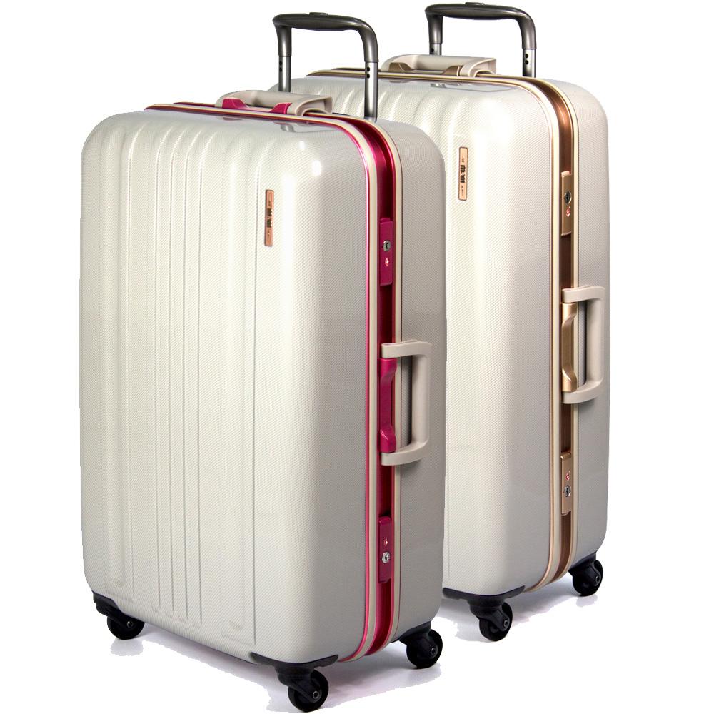 MOM 日本品牌 - 28吋MOM日本彩框行李箱RU-花蓮 愛 買6008-28二色可選