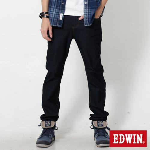 EDWIN 迦績褲 JERSEYS X EDGE窄直筒牛仔褲~男~原藍色