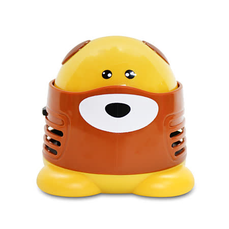 【LIBERTY】迷你桌上型吸塵器-小黃犬