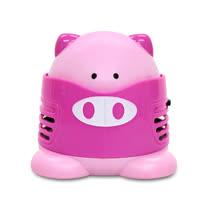 【LIBERTY】迷你桌上型吸塵器-粉紅豬