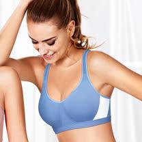 【黛安芬】中機能體適能運動胸罩B-C罩杯內衣(躍動藍)