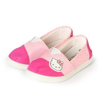 (中大童) HELLO KITTY 套式懶人鞋 桃粉 鞋全家福