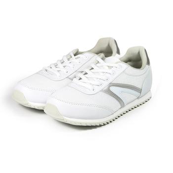 (女) ARRIBA 復古慢跑鞋 白 鞋全家福
