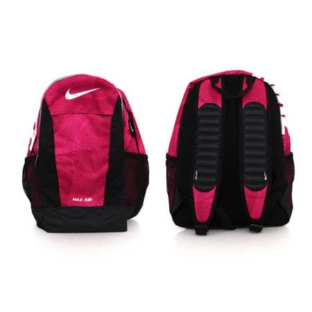 (童) NIKE YA MAX AIR 兒氣墊後背包-肩背包 雙肩包 旅行 粉紫黑 F