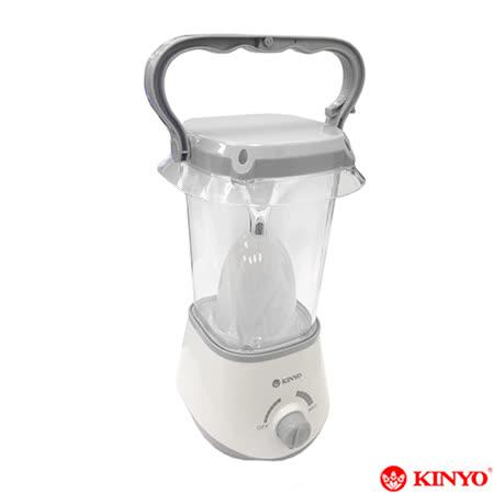 【KINYO】超亮360度充電式露營燈(CP-02)