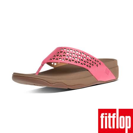 FitFlop™-(女款)LEATHER LATTICE SURFA™-泡泡糖色
