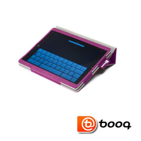 Booq Folio iPad 2 / New iPad  天然麻立架保護套-葡萄紫