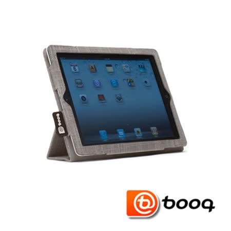 Booq Folio iPad 2 / New iPad  天然麻立架保護套-淺沙棕