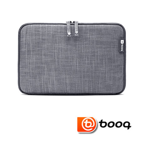 Booq Mamba 系列 the new MacBook 12 吋筆記型電腦專用天然麻保護內袋 - 石磨灰 (MSL12-GRY)