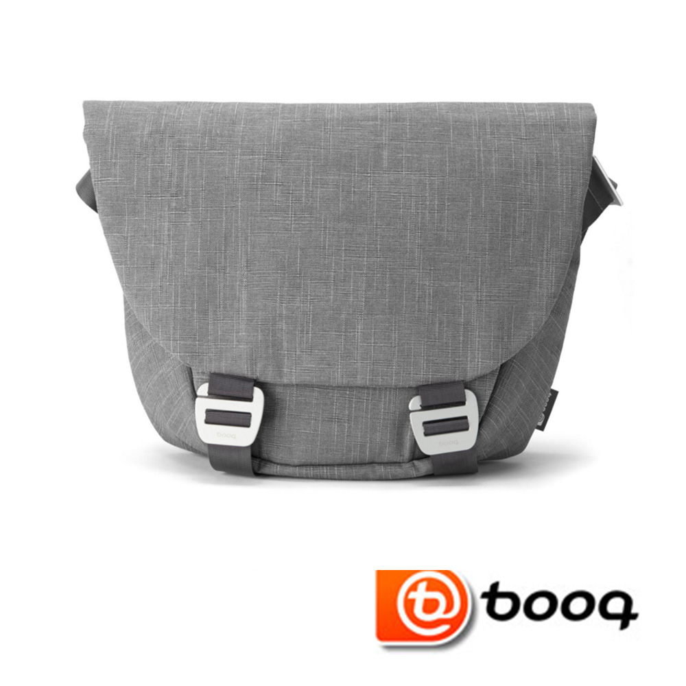 Booq Shadow  系列 15 吋信差包 -  天然麻灰色 (SHD-GRYF)