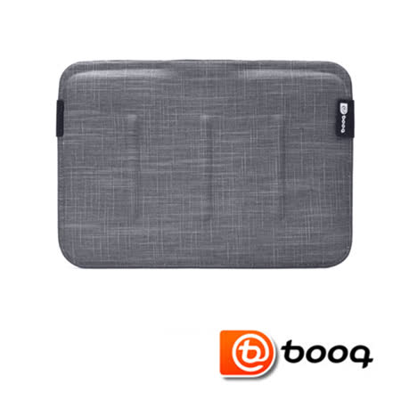 Booq Viper Sleeve  MacBook Air 11 吋專用天然麻硬殼內袋-石磨灰