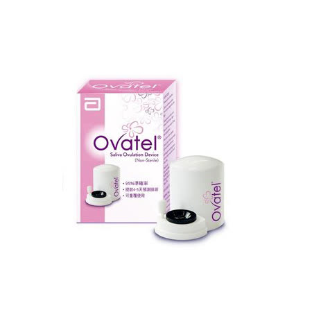 【亞培】OVATEL優譜唾液微型排卵顯微鏡檢器-無須排卵試紙耗材