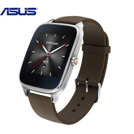 ASUS 華碩 ZenWatch 2 率性運動咖 穿戴手錶 (附悠遊卡錶帶) 快充進化版-【送USB LED隨身燈】