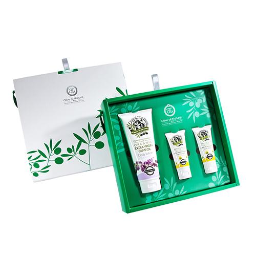 自然之丘-橄欖油身體保養組A組(中禮盒)