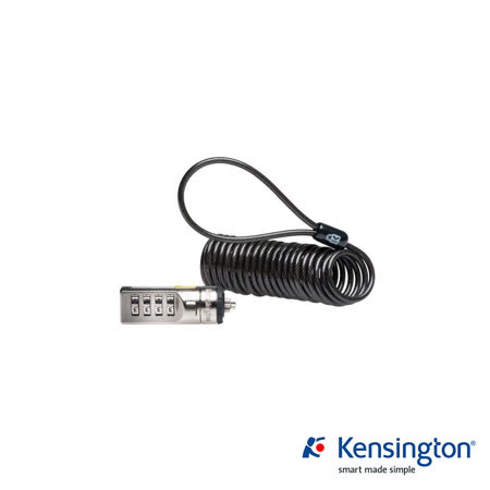 Kensington K64670 Portable Combination 行動型鋼纜密碼電腦鎖