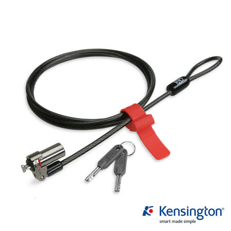 Kensington K64590 MicroSaver® DS Keyed Ultra-Thin Notebook Lock 白金級超纖細電腦防護鎖 (鑰匙式)
