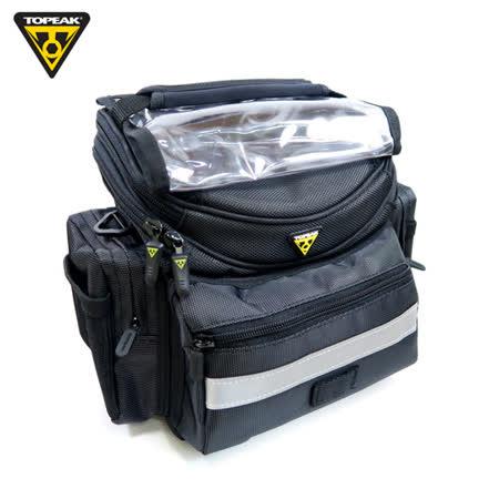 TOPEAK TourGuide Handlebar Bag 快拆式車前袋/地圖包/車把手袋-黑