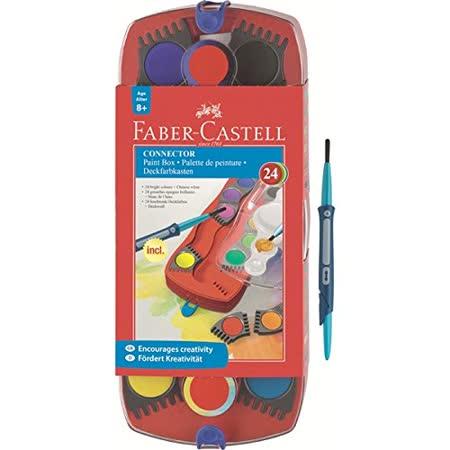 《Faber-Castell輝柏》連結創意水彩餅 24 色