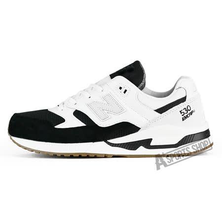 NEW BALANCE (男) 紐巴倫 TIER 2 To 3 復古鞋 休閒鞋 黑/白-M530AC
