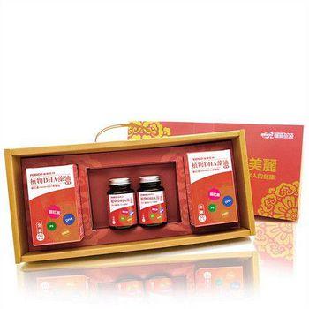 遠東生技 植物DHA藻油思緒靈活禮盒 1盒組