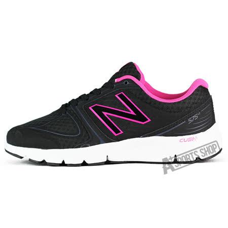 NEW BALANCE (女) 紐巴倫 60,70穩定跑鞋 黑-W575LB2