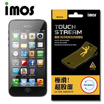 iMOS Apple iPhone SE 霧面中段+亮面上下段+蘋果貼+鏡頭 Touch Stream  電競霧面 背面保護貼